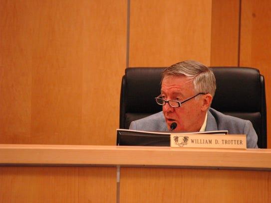 William Trotter, planning board member.