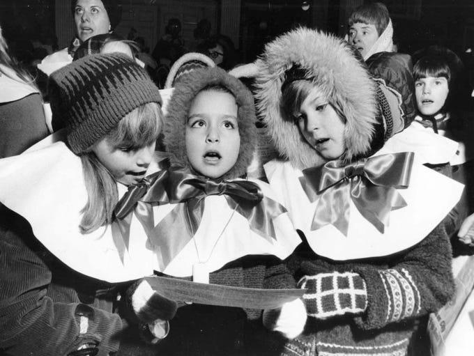 1968: Sharon Splihte, Ann Marie Manzi, and Linda Nelson