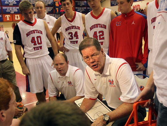Gary Ernst has won more games than any coach in Arizona boys basketball high school history.