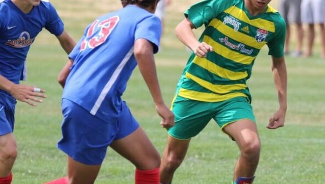 Jonathan Nicacio, 14, has proven himself to be one of the rising soccer stars in the state of Florida with recent performances in summer tournaments. He led his Tampa Bay Rowdies soccer club to a third-place finish at the U.S. Soccer Club Nationals in Denver last month.