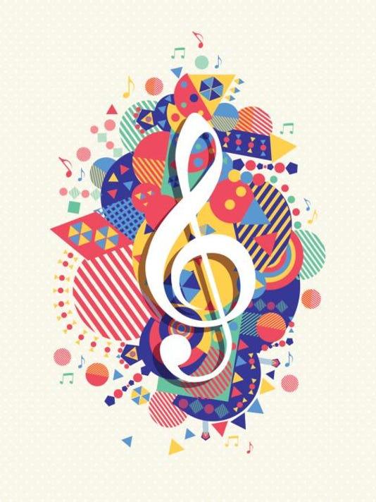 music treble clef