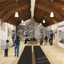 The upper level of the horse barn at Falls Park might be turned into an living history area about the Sioux Falls Stockyards.