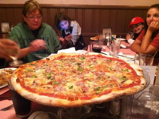 Carly Enriquez-Tornquist, who moved to California from Long Branch, shared this photo from her last visit to New Jersey. Tuzzio's is always a stop for her.