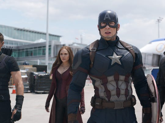 "Hitting theaters on May 6: ""Captain America: Civil"