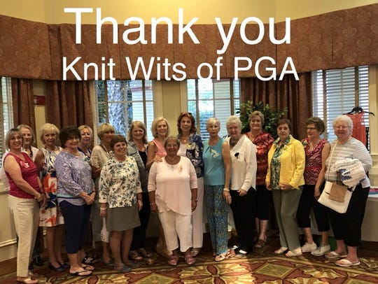 The kind hearts of the women of Knit Wits have made