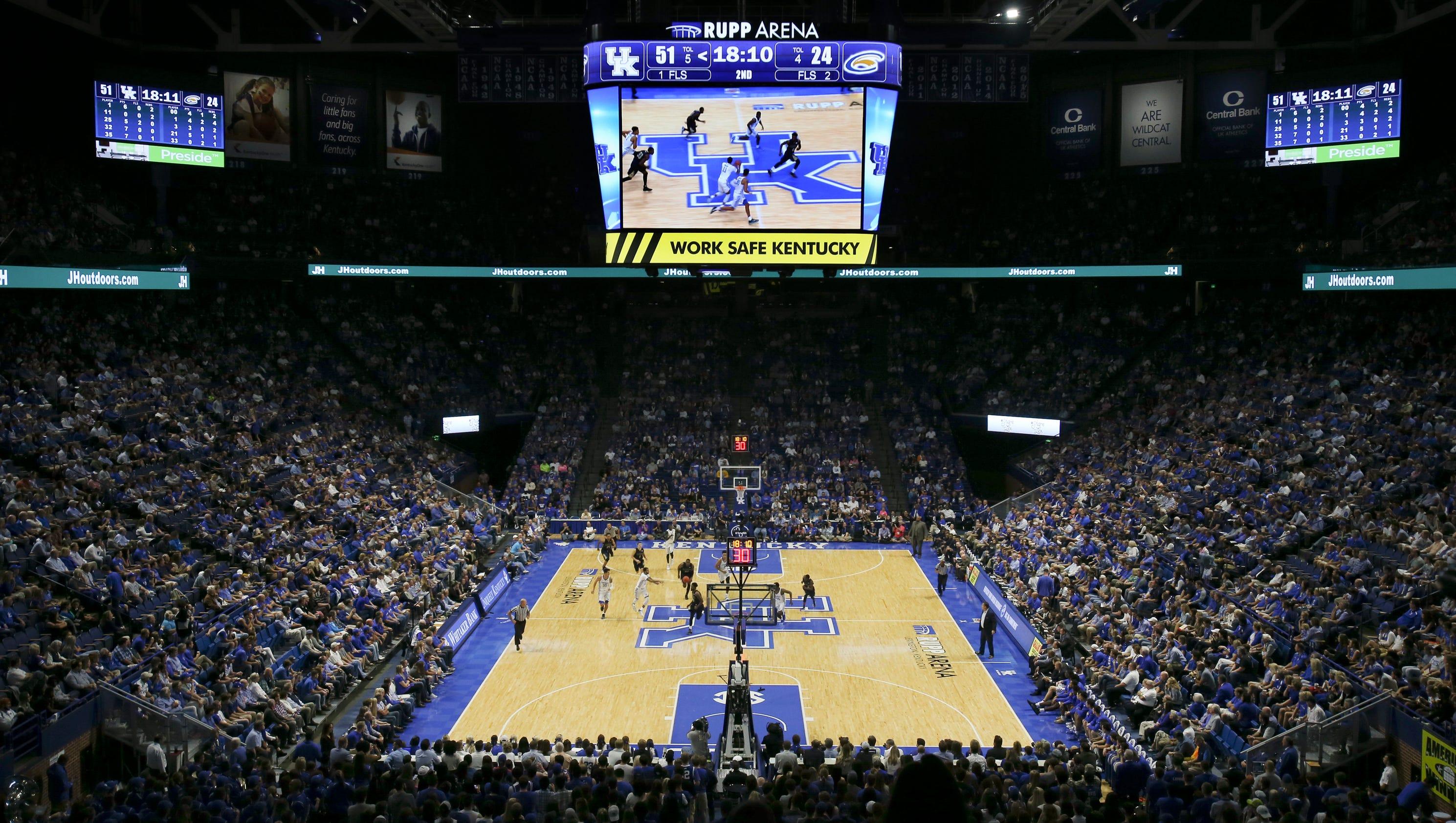 Kentucky Wildcats Basketball 2017 18 Team Photo: Kentucky To Host Virginia Tech In 2017-18