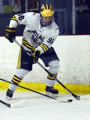 Alex Magnant gave Hartland a 2-1 lead in the first