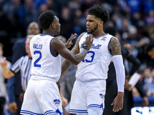 NCAA Basketball: Georgetown at Seton Hall