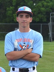 Dover head coach Bryce Smith, 21, is the youngest head coach in the York-Adams American Legion League. SUBMITTED