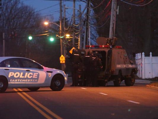 SWAT teams, police swarm Eastchester neighborhood in false alarm