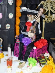 Cathedral High School created a Día de los Muertos altar. Various schools, organizations and groups honored their loved ones with special displays.