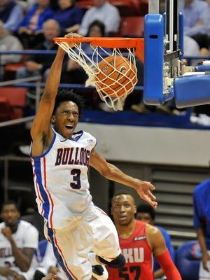 Louisiana Tech senior guard Raheem Appleby was an overnight celebrity thanks to this dunk over Western Kentucky.