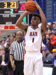 Blackman's Cedriontis Wilson lead the top-ranked Blaze with 14.0 points a game.