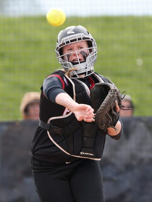 Frontier junior catcher Kc Clapper originally committed to Indiana, but has changed that verbal commitment to the Purdue Boilermakers.