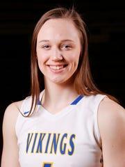 North White High School senior point guard Maci Heimlich