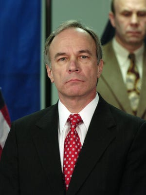 Centre County District Attorney Ray Gricar is seen on Thursday, March 31, 2005 in this file photo. Gricar, Centre County's top prosecutor was reported missing Saturday April 16, 2005, a day after he failed to return home from a drive. (AP Photo/Centre Daily Times, Nabil K. Mark)