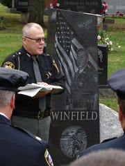 Marion County Sheriff's Office Chaplain Jeff Williams