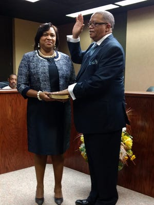 REV. James Sims is the first black mayor of Oil City, LA.