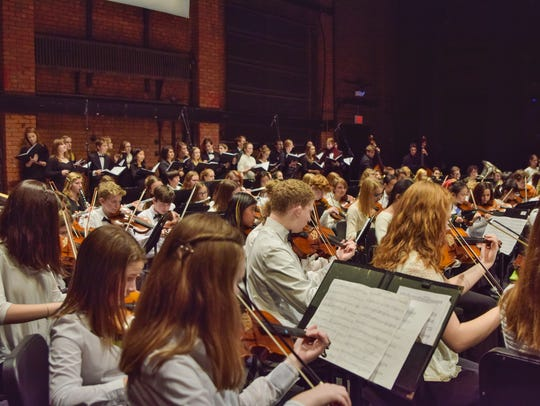 "The Vermont Youth Orchestra presents its ""OrchestraChorusPalooza"""