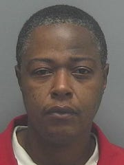 Mugshot of Tiffany Alexander, arrested after FMPD raided a Highland Avenue home and found drugs.