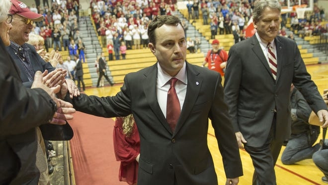 Details of Archie Miller's IU contract were released Tuesday.