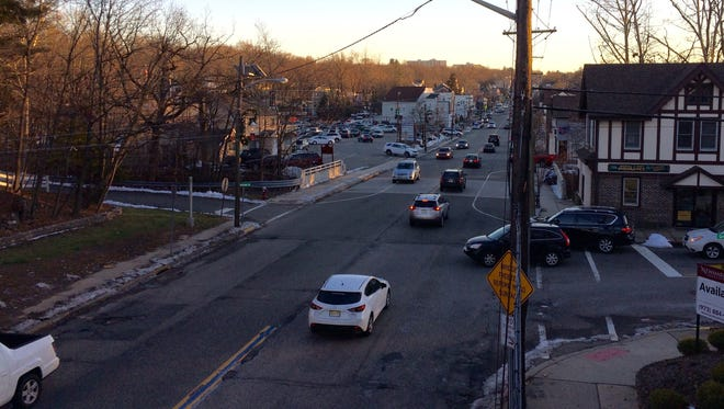 The stretch of Pompton Avenue in Cedar Grove that a business advisory committee hopes to study. The goal: creating more foot traffic and shopping.