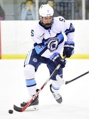Jake Beaune scored two goals in Friday's victory over Traverse City Central.