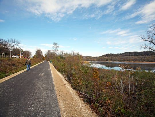 The Great Sauk State Trail opened in October 2017 in