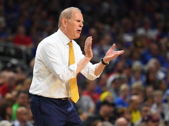 Michigan Wolverines head coach John Beilein, age 65.