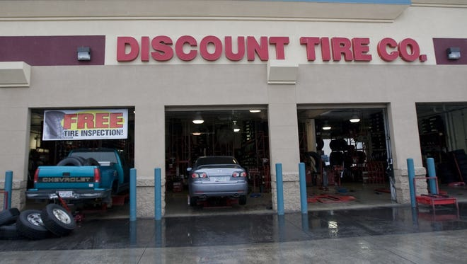 Scottsdale-based Discount Tire employed 2,119 people in 2017.