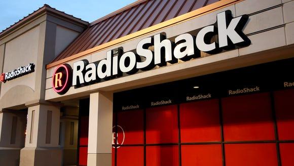 This Tuesday, Feb. 3, 2015 photo shows a RadioShack