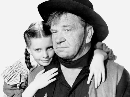 Publicity still from the western 'Bad Bascomb' with Wallace Beery---1946-MGM/