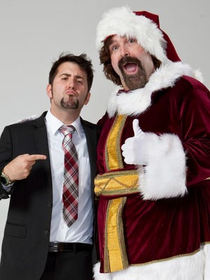 Director Tommy Avallone with Producer Mick Foley