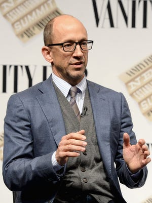 """Twitter CEO Dick Costolo speaks onstage during """"Social Goes Global"""" at the Vanity Fair New Establishment Summit at Yerba Buena Center for the Arts on October 9, 2014 in San Francisco, California."""