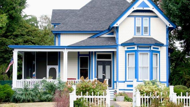The McClaine House.