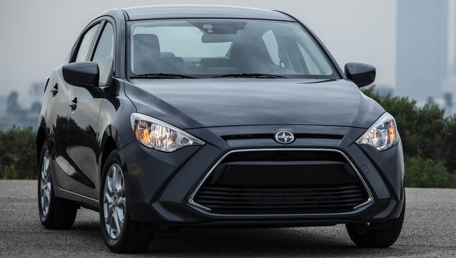 Toyota's Scion is going to sell its first sedan, the iA