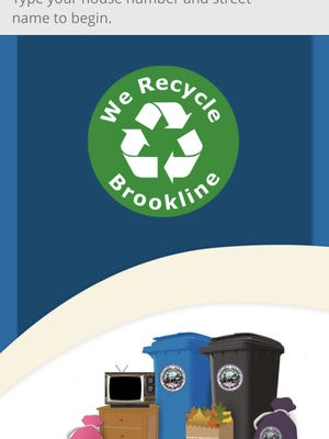 The Highway and Sanitation Division of the Brookline Public Works Department announced that it has launched the We Recycle Brookline smartphone app and is extending household hazardous waste drop-off through November.