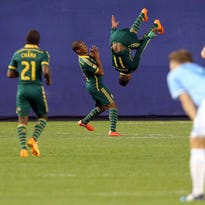 Photos: Portland scores late to beat NYC FC, 1-0