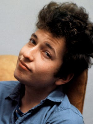Bob Dylan in the 1960s.