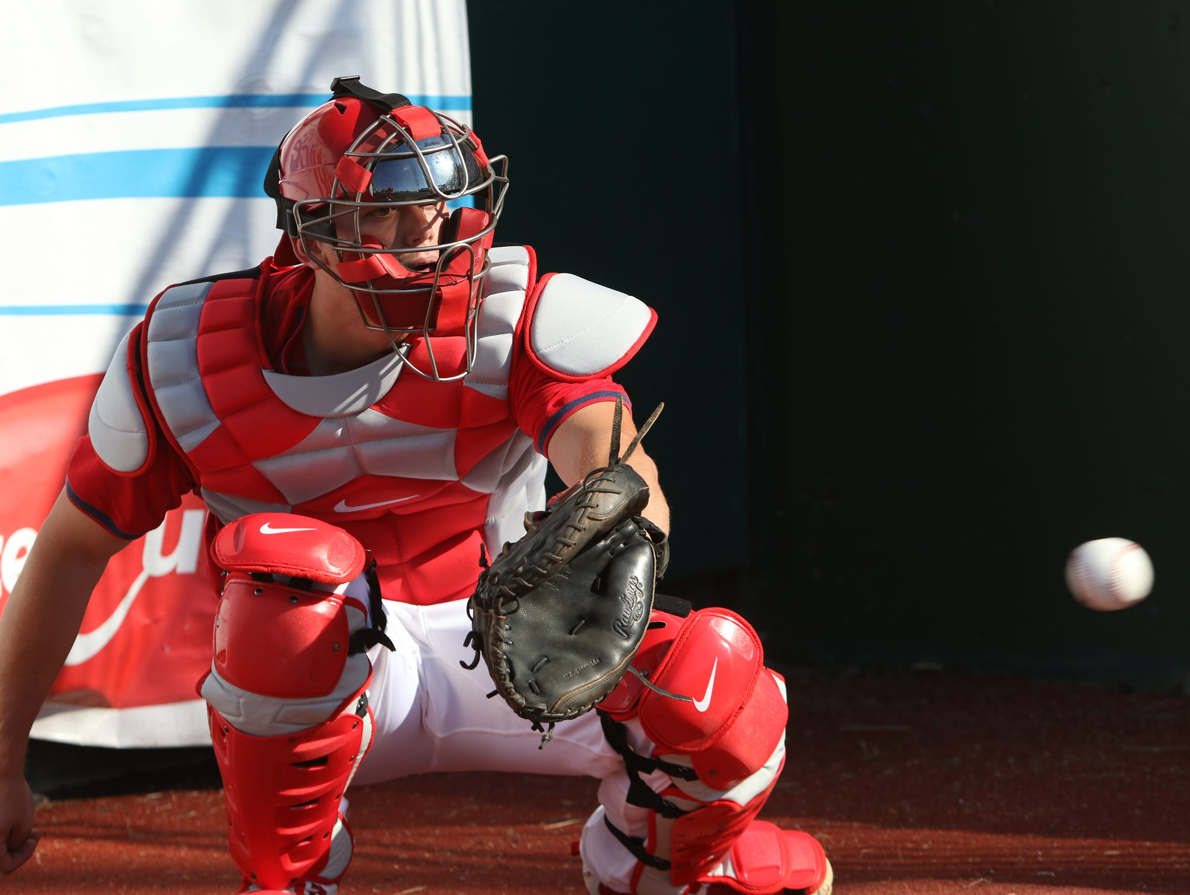 Carson Kelly has turned into a hot prospect at catcher,