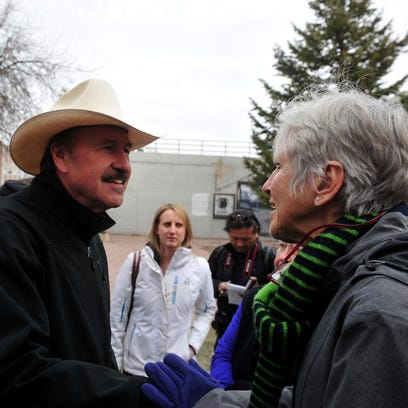 Rob Quist, who is running for the U.S. House seat vacated