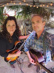 Nikki Talley, left, and Jason Sharp will perform at Music Under the Stars March 27 at 7 p.m. at From the Ground Up Community Garden, 501 N. Hayne St.