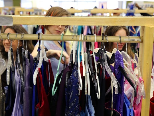 Eblen Charities offers prom dresses for free as part of Operation Prom Dress.