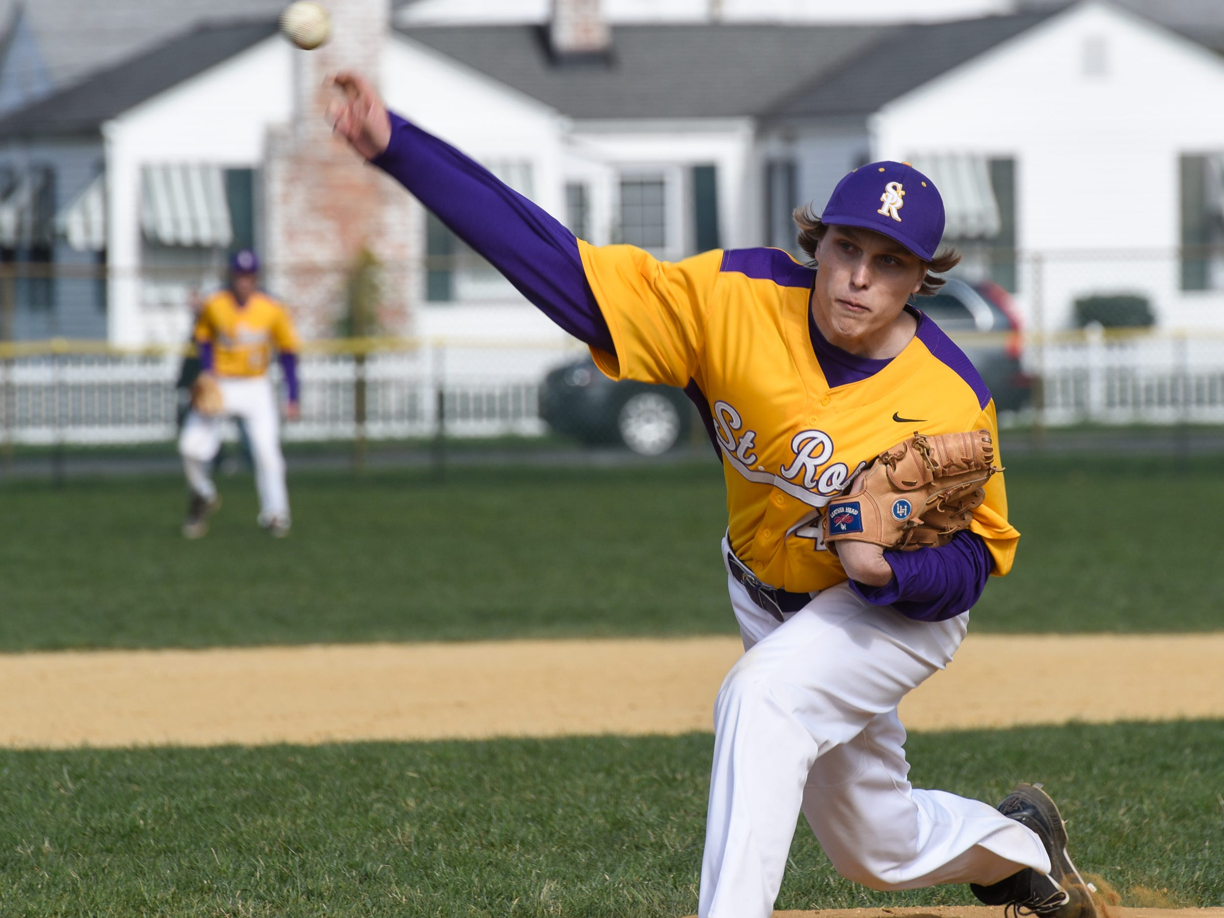 Jason Criscuolo pitched 3 2/3 innings of scoreless relief Monday to pick up the win in St. Rose's victory at Point Pleasant Beach