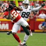 Chiefs' Marcus Peters with second straight two-pick game