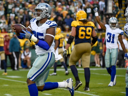 NFL: Dallas Cowboys at Green Bay Packers