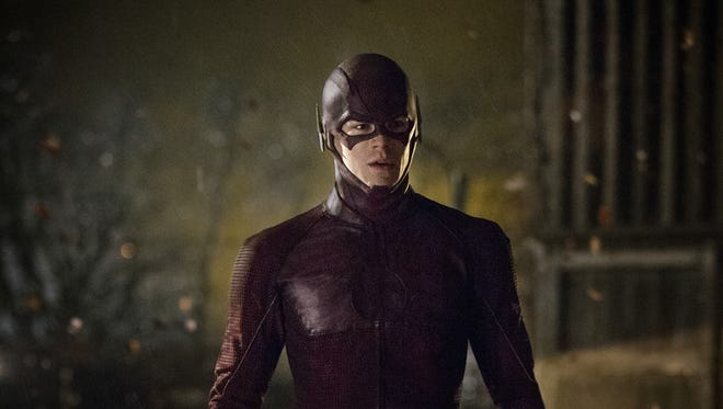 Grant Gustin stars as The Flash in the new CW action series.