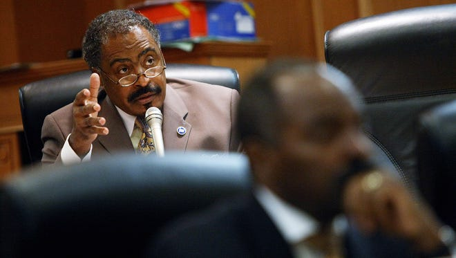 In 2010, the Tennessee General Assembly considered a bill where a court should order equal parenting time unless it found evidence either parent was unfit or the parents reached a different agreement. Rep. John DeBerry makes his point before the subcommittee put off a vote on the bill. The bill failed during that legislative session.