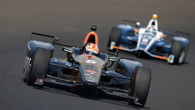 James Hinchcliffe is part of the push to promote the new wave of young drivers.