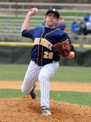 Senior pitcher Ben Hampson and the Pequannock baseball team earned the eighth seed in the upcoming North 1 Group 2 state playoffs and host No. 9 Vernon in Monday's opening round in Pompton Plains